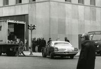 Police presence during protests, 1972
