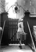 Brooks Hall Gate, 1937 or 1942