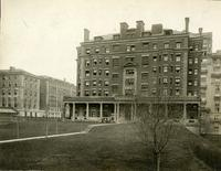 Brooks Hall exterior, circa 1910s