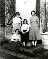 Sophomore Class Officers, 1955