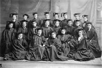 Barnard College Class of 1899 Graduation Portrait, circa 1898-99