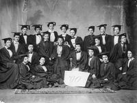 Barnard College Class of 1900 First-Year Portrait, circa 1896-1897