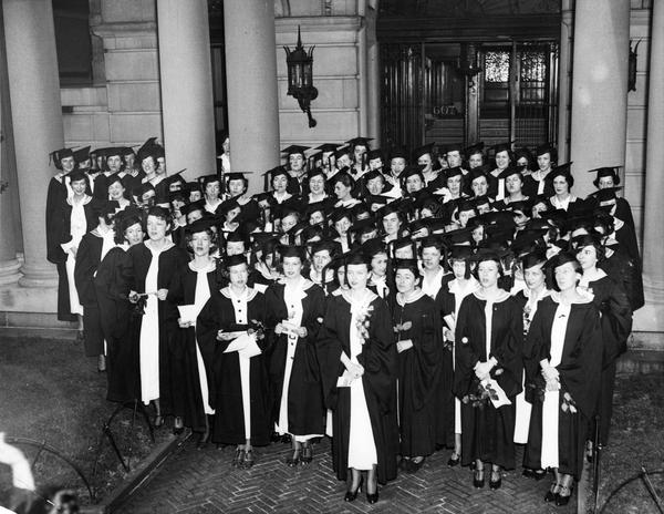 Barnard College Commencement, 1935