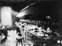 Interior Chemistry Lab, 1894