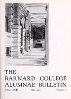The Barnard College Alumnae Bulletin, May 1932