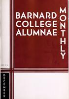 Barnard College Alumnae Monthly, December 1933