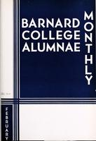 Barnard College Alumnae Monthly, February 1934
