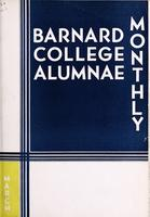 Barnard College Alumnae Monthly, March 1934