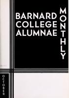 Barnard College Alumnae Monthly, October 1934