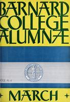 Barnard College Alumnae Monthly, March 1935
