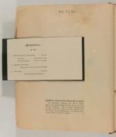 Edith Somborn Issacs Scrapbook, 1903-1906, page 20, Inclusion 1, page 2