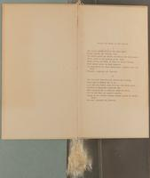 Sophie Parsons Woodman Scrapbook, 1905-1907, page 5, Inclusion 1, page 3