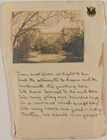 Eleanor Myers Jewett Scrapbook, vol. 1, 1908-1909, page 149, Inclusion 1, page 13