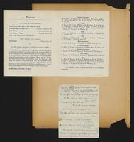 Grace R. Greenbaum Epstein Scrapbook, 1911-1913, page 21, Inclusion 1, page 1