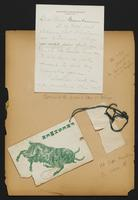 Grace R. Greenbaum Epstein Scrapbook, 1911-1913, page 5, Inclusion 1