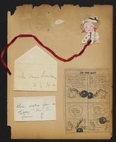 Grace R. Greenbaum Epstein Scrapbook, 1911-1913, page 36, Inclusion 1