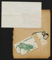 Grace R. Greenbaum Epstein Scrapbook, 1911-1913, page 5, Inclusion 1, page 2