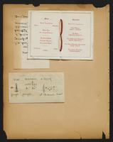 Grace R. Greenbaum Epstein Scrapbook, 1911-1913, page 43, Inclusion 1, page 2