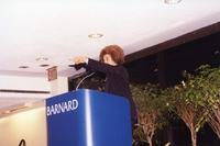 Angela Davis Lecture at Barnard, C2001