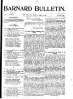 Barnard Bulletin, March 4, 1901