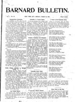 Barnard Bulletin, March 18, 1901, page 1