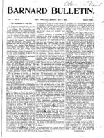 Barnard Bulletin, May 6, 1901