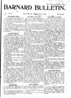 Barnard Bulletin, May 13, 1901