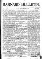 Barnard Bulletin, October 14, 1901