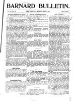 Barnard Bulletin, May 5, 1902