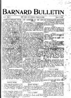 Barnard Bulletin, March 30, 1903