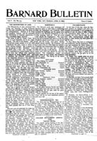 Barnard Bulletin, April 27, 1903