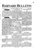 Barnard Bulletin, May 11, 1903