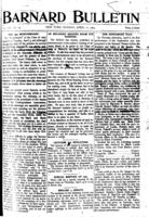 Barnard Bulletin, April 11, 1904