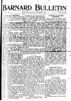 Barnard Bulletin, October 3, 1904, page 1
