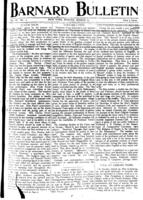 Barnard Bulletin, March 13, 1905, page 1