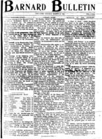 Barnard Bulletin, March 27, 1905