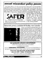 Barnard Bulletin, March 1, 2000, page 7