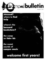 Barnard Bulletin, October 2, 2002