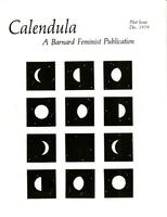 Calendula: A Barnard Feminist Publication, Winter 1979, page 1