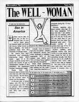 Well-Woman Newsletter, December 1994, page 1