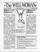 Well-Woman Newsletter, October 1995, page 1