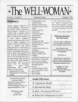 Well-Woman Newsletter, February 1996, page 1