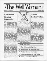 Well-Woman Newsletter, March 1998