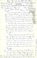 Letter from Frances Riche to Iola Haverstick, October 10, 1971, page 1
