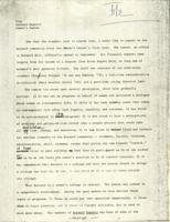Barnard Reports, Women's Center, draft, 1971