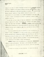 Barnard Reports, Women's Center, draft, 1971, page 2