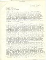"Letter from Gordon Meadows-Hills to ""Feminist Studies,"" October 23, 1971, page 2"