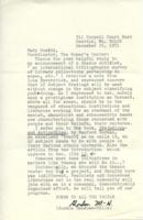 Letter from Gordon Meadows-Hills to Mary Scotti, December 25, 1971