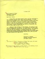Letter from Catharine Stimpson to Eleanor Tilton, October 1, 1971, page 1