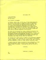 Letter from Catharine Stimpson to Allan Farnsworth, December 13, 1971, page 1